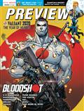 Previews #376 January 2020 * Includes A Free DC Previews