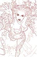 Harley Quinn & Poison Ivy #5 (of 6) Card Stock Poison Ivy Va