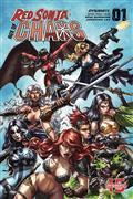 Red Sonja Age of Chaos #1 Cvr B Quah