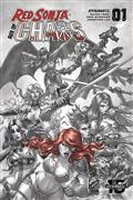 Red Sonja Age of Chaos #1 40 Copy Quah Hell Red Incv