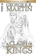 George Rr Martin A Clash of Kings #1 20 Copy Rubi B&W Incv (