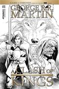 George Rr Martin A Clash of Kings #1 40 Copy Segovia B&W Inc