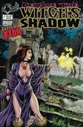 Beware Witch`S Shadow Happy New Fear #1 Cvr B Bonk Graveside