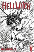 Hellwitch Hellbourne #1 S&N Raw Ed (MR)