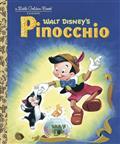 Pinocchio Little Golden Board Book (C: 1-1-0)