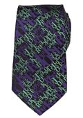 DC The Joker Black Silk Tie (C: 1-1-2)