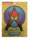 Spongebob Squarepants Fishnet Stockings Patrick Patch (C: 1-