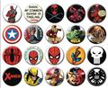Marvel Comics 144Pc Button Asst (Net) (C: 1-1-2)