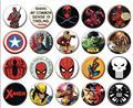 Marvel Comics 144Pc Button Asst (Net) (C: 1-1-2)