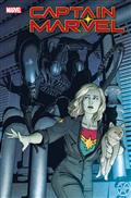 Captain Marvel #25 Mckelvie Marvel vs Alien Var