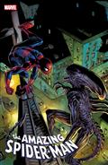 Amazing Spider-Man #56 Bagley Marvel vs Alien Var