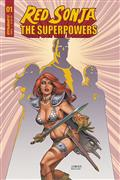 Red Sonja The Superpowers #1 Cvr B Linsner
