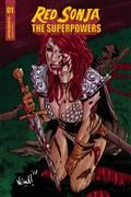 Red Sonja The Superpowers #1 10 Copy Federici Zombie Incv