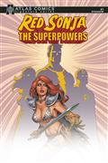 Red Sonja The Superpowers #1 Atlas Linsner Sgn Ed