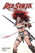 Red Sonja Price of Blood #2 Cvr B Golden