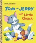 TOM-JERRY-MEET-LITTLE-QUACK-LITTLE-GOLDEN-BOOK-(C-1-1-0)
