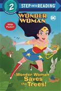 WONDER-WOMAN-SAVES-THE-TREES-STEP-INTO-READING-SC-(C-0-1-0)