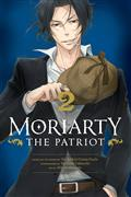 Moriarty The Patriot GN Vol 02 (C: 1-1-2)