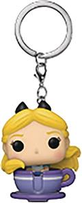 Pocket Disney 65Th Alice In Teacup Fig Keychain (C: 1-1-2)