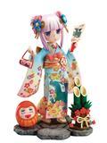 Miss Kobayashis Dragon Maid Kanna Finest Kimono 1/7 Pvc Fig