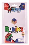 Worlds Smallest 40Th Ann Metallic Rubiks Cube Inner Cs (Net)