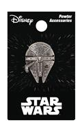 Star Wars Millennium Falcon Pewter Lapel Pin (C: 1-1-2)