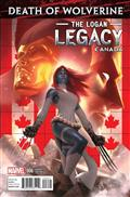 Death of Wolverine Logan Legacy #6 (of 7) Canada Var *Clearance*