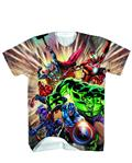 Avengers Defendsub Sublimated T/S Lg (C: 1-1-0)