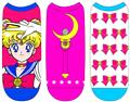 Sailor Moon Low Cut Socks 3Pk Set (Jun158739) (C: 1-1-1)