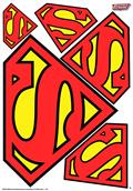 DC Heroes Superman Car Graphics Set (C: 1-1-1)