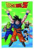Dbz Goku & Friends Tin Wall Sign (Net) (C: 1-1-1)