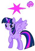 Mlp Twilight Sparkle Car Graphics Set (C: 1-1-1)