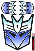 Transformers Decepticon Full Color Car Graphics Set (C: 1-1-