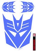 Transformers Decepticon Purple Car Graphics Set (C: 1-1-1)
