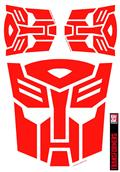 Transformers Autobot Red Graphics Set (C: 1-1-1)