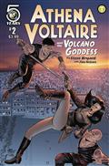 Athena Voltaire And The Volcano Goddess #2 Cvr A Bryant