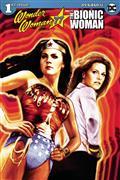 Wonder Woman Bionic Woman 77 #1 (of 6) Cvr A Staggs