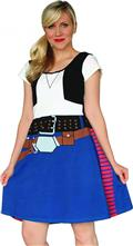 Her Universe Han Solo Fit & Flare Dress Lg (C: 1-1-1)