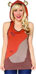 Her Universe Sw Ewok The Walk Hooded Womens Tank Med (C: 0-1