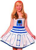 Her Universe You R2 Cute A-Line Dress Lg (C: 1-1-1)
