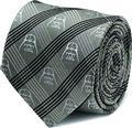 Star Wars Darth Vader Gray Plaid Tie (C: 1-1-1)