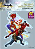 DC Heroes Red Hood & The Outlaws PX Vinyl Decal (C: 1-1-1)