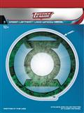 DC Justice League Green Lantern Dimensional Logo Vinyl Decal