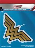 DC Justice League Wonder Woman Dimensional Logo Vinyl Decal