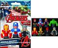 Marvel Avengers 2-Pk Puzzle Eraseez 12-Pc Asst (C: 1-1-2)