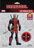 Marvel Heroes Deadpool Unmasked PX Vinyl Decal (C: 1-1-1)
