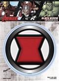 Marvel Avengers Black Widow Logo Vinyl Decal (C: 1-1-1)