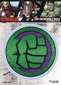 Marvel Avengers The Hulk Logo Vinyl Decal (C: 1-1-1)