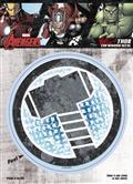 Marvel Avengers Thor Logo Vinyl Decal (C: 1-1-1)