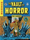 Ec Archives Vault of Horror HC Vol 01 (C: 1-0-0) *Special Discount*